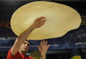 Freestyle al Il Campionato Mondiale della Pizza