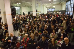 Pubblico alla presentazione Expo