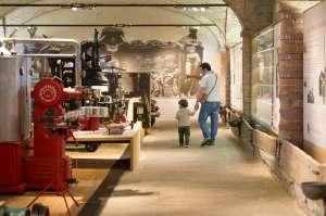 Papà e bimbo ai Musei del Cibo