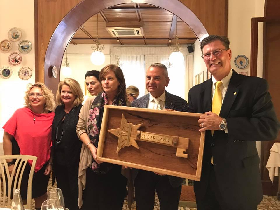 The State of Texas and the City of Sugar Land open the doors to the Region of Umbria.