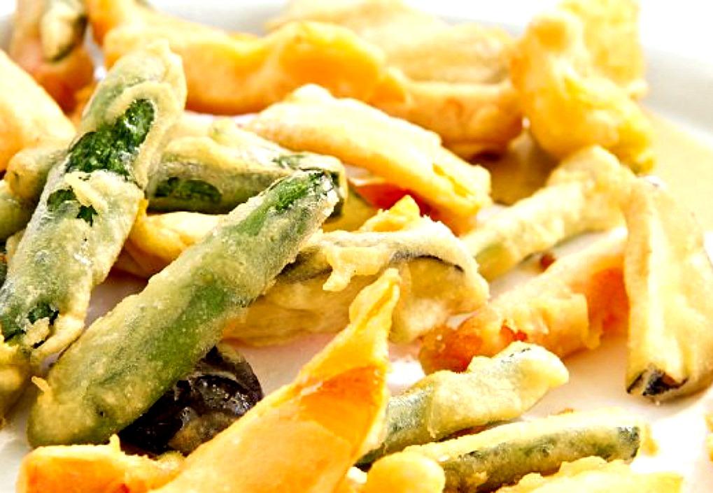Ricette d' Italia. L'antipasto di verdure fritte ligure
