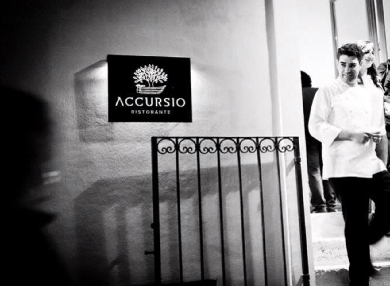 Accursio Craparo e la sua prima stella Michelin, per la seconda volta.