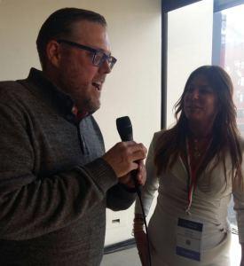 Lucia Nettis con Jeff Porter Bastianich&Batali Group