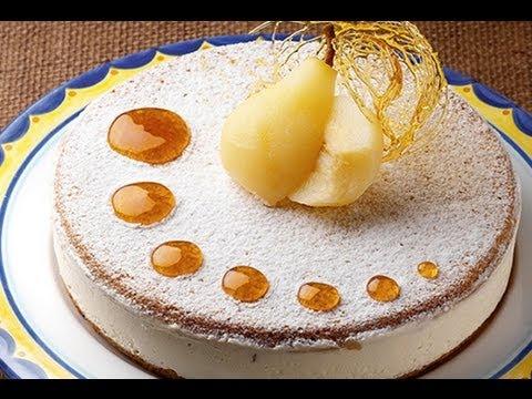 Torta Ricotta e Pere - Sal De Riso