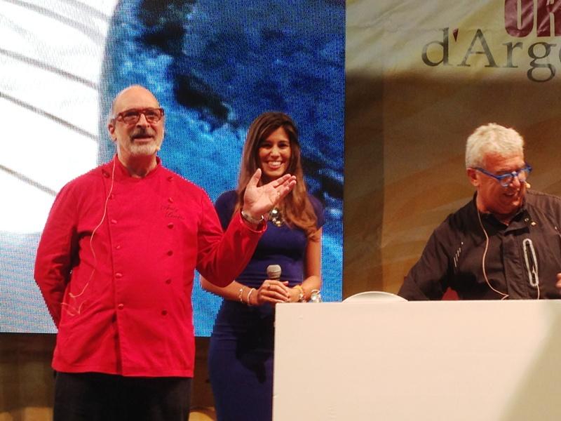 Andy Luotto ed Eliana Chiavetta sul palco (1)